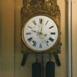 Comtoise Uhr mit Datumsanzeige - Fotoaufnahme 01.05.2009