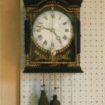 Wanduhr mit Vorderpendel - Fotoaufnahme 17.07.1995