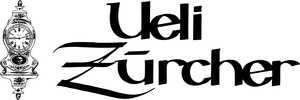 Ueli Zürcher Uhrmacher Firmen-Logo mit Schriftzug